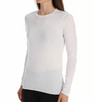 Skin Superine Pima Jersey Long Sleeve Crew Neck Tee SSFJ1030