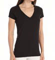 Superfine Pima Jersey V-Neck Easy Tee Image