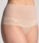 Been A Thong Time-Shaper Lace Trim Thong