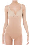 SPANX Slimmer & Shine Open Bust Bodysuit 1060