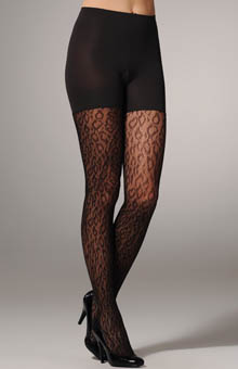SPANX Uptown Tight End Tights Animal Print 1099