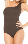SPANX Golden Touch One Shoulder One Piece Swimwear 1347