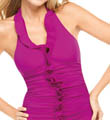 SPANX Long and Lean Halter One Piece Swimwear 1353