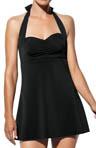 Core Halter Swim Dress