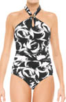 Decadent Decollete Halter One Piece Swimwear