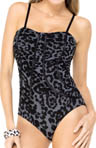 SPANX Piping Hot One Piece Swimsuit 1384