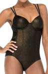 SPANX Gilded Glam One Piece Swimsuit 1389