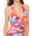 Belted Beauty Halter One Piece Image