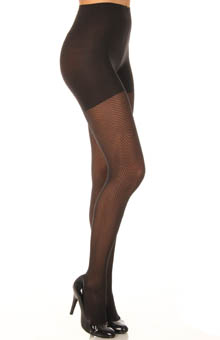 Patterned Tight End Tights Illusion Stripe