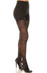 Patterned Tight End Tights Sweater Stripe