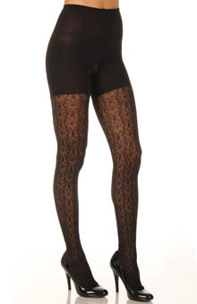 Patterned Tight End Tights Filagree