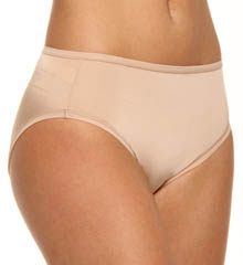 The Perfect Pair Mesh Trim High Leg Brief Panty