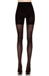 Patterned Tight End Tights Dotted Line