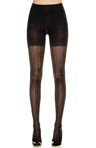Patterned Tight End Tights Peak-A-Boo