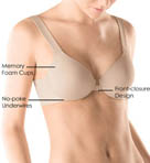 SPANX Bra-llelujah Full Coverage Front-Closure Bra 216