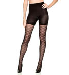 SPANX Tight End Floral Check Tights 2448