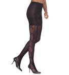 Uptown Tights Fishnet Flair Tights Image