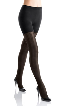 SPANX Corset Patterned Tight End Tights 322