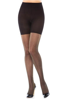 SPANX Patterned Body Shaping Lurex Tights 398