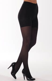 SPANX Patterned Tight End Tights Diamond Stripe 950