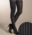SPANX Patterned Tight-End Tights - Ribbed Stripe 954