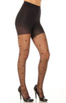 Sheer Fashion Polka Dots Tights