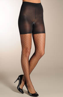 Uptown Tight-End Tights - Dotted Net