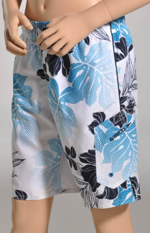 Boys Marina Tropical Wash Boardshort