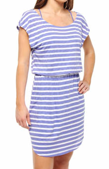 Splendid White Rugby Stripe Dress 17818