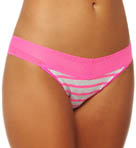 Color Fusion Mesh Lace Bikini Panty