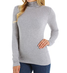 1X1 Rib Long Sleeve Turtleneck