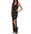 Splendid Pipeline Stripe Sleeveless Maxi Dress SD8433