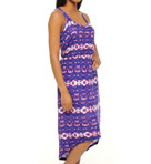 Splendid Sunburst Tie Dye Hi Low Dress SDA3731