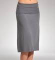 Splendid Modal Lycra Fold Over Mid Length Skirt SML6389