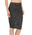Spaced Dyed Jersey Ruched Skirt Image