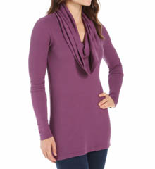 Splendid Long Sleeve Thermal Cowl Neck ST4674