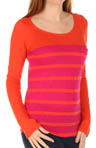 Splendid Seville Stripe Jersey Colorblock Tee STF7230