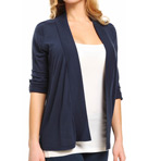 Very Light Jersey Shawl Collar Cardigan