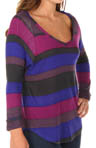 Splendid Color Block Rugby Long Sleeve Tee T797106