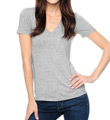 Splendid Jersey V-Neck Tee Shirt TMJ1021