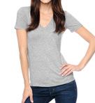 Jersey V-Neck Tee Shirt