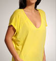 Splendid Vintage Whisper V Neck Drop Sleeve Tee TSZ6668