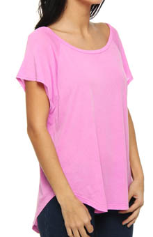 Vintage Whisper Dolman Cap Sleeve Tee