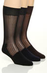 Stacy Adams Classics Silkie Socks 3 Pack S202UHR