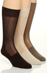 Stacy Adams Classics Silkie Socks - 3 Pack S203UHR