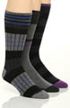 Stacy Adams Moderns Fashion Socks - 3 Pack S212UHR