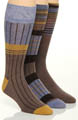 Stacy Adams Moderns Fashion Socks - 3 Pack S213UHR