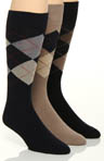 Stacy Adams Moderns Fashion Socks 3 Pack S217UHR