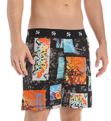 Geometric Graffiti Boxer Shorts