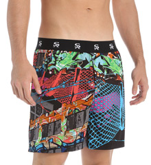 Building Graffiti Boxer Shorts